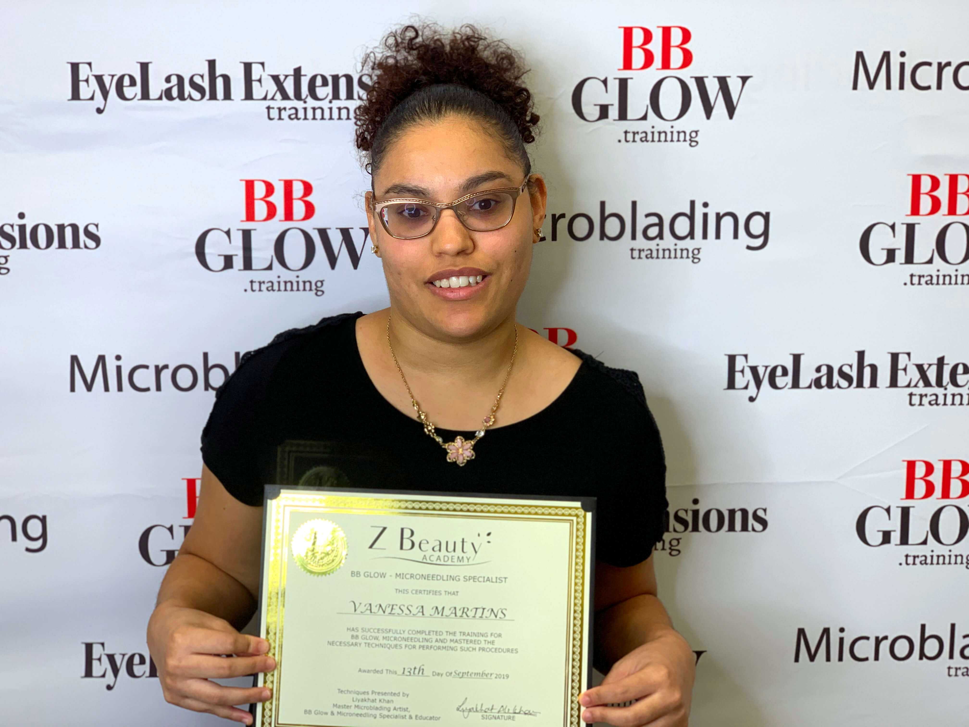 Get your BB Glow Training Either In Person Or Online