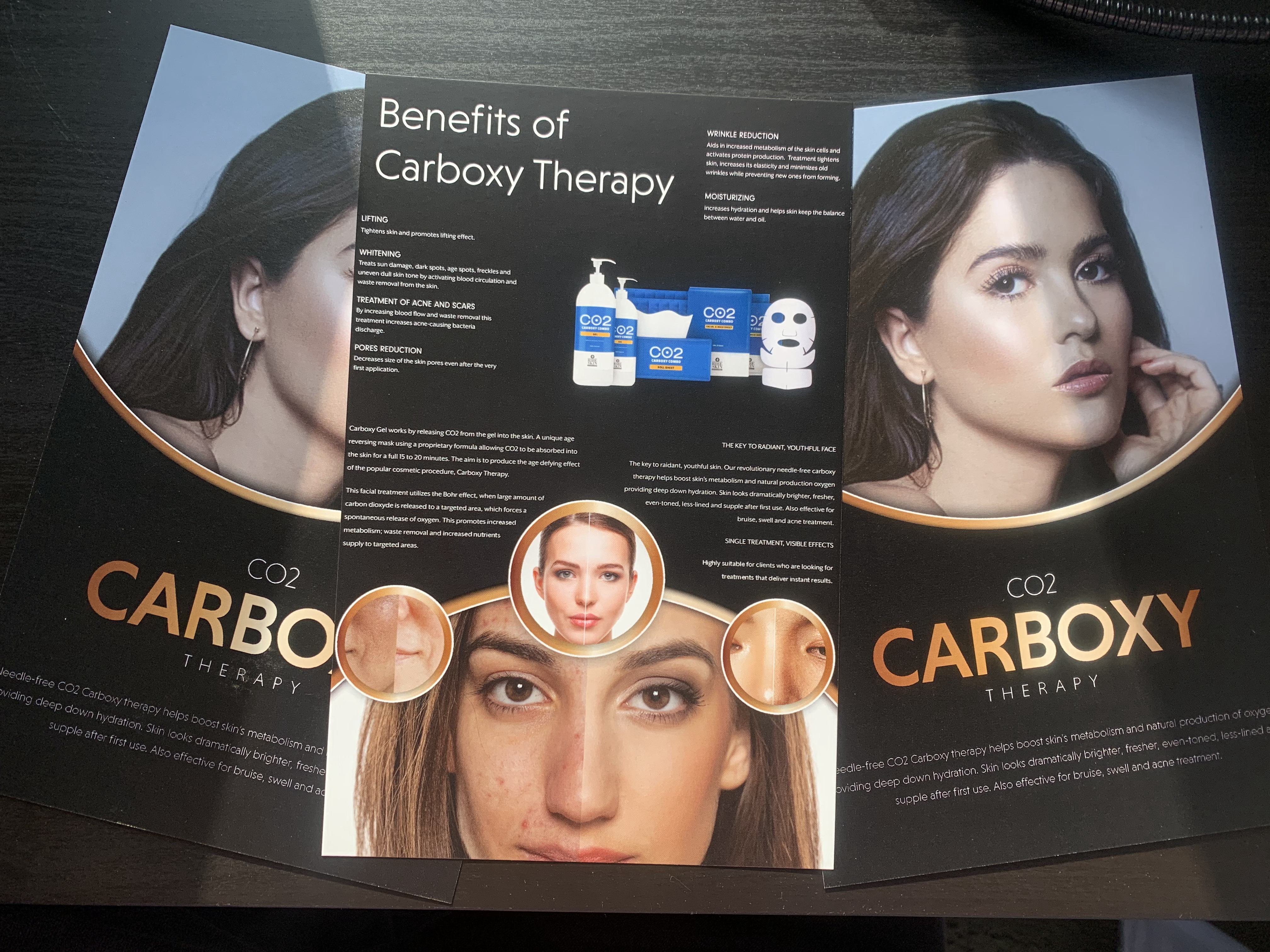 Carboxy Therapy - 50 Brochures Image